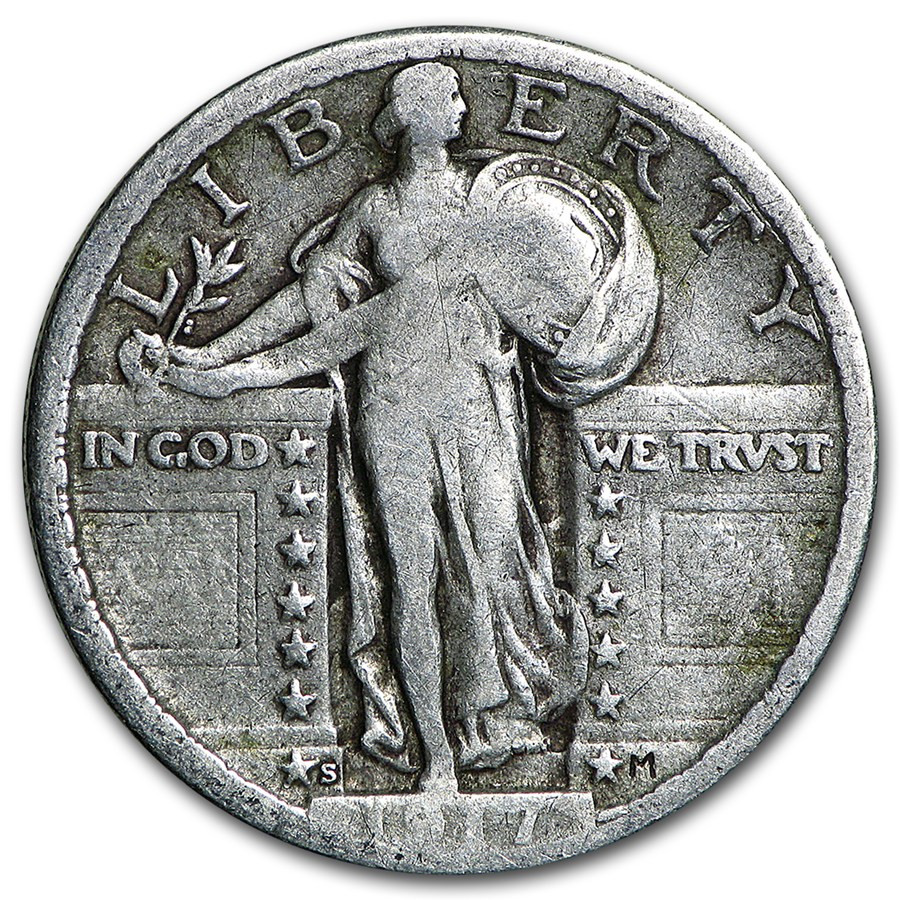 Standing Liberty Quarter Fresh 1917 S Standing Liberty Quarter Type Ii Fine Of Incredible 50 Pictures Standing Liberty Quarter