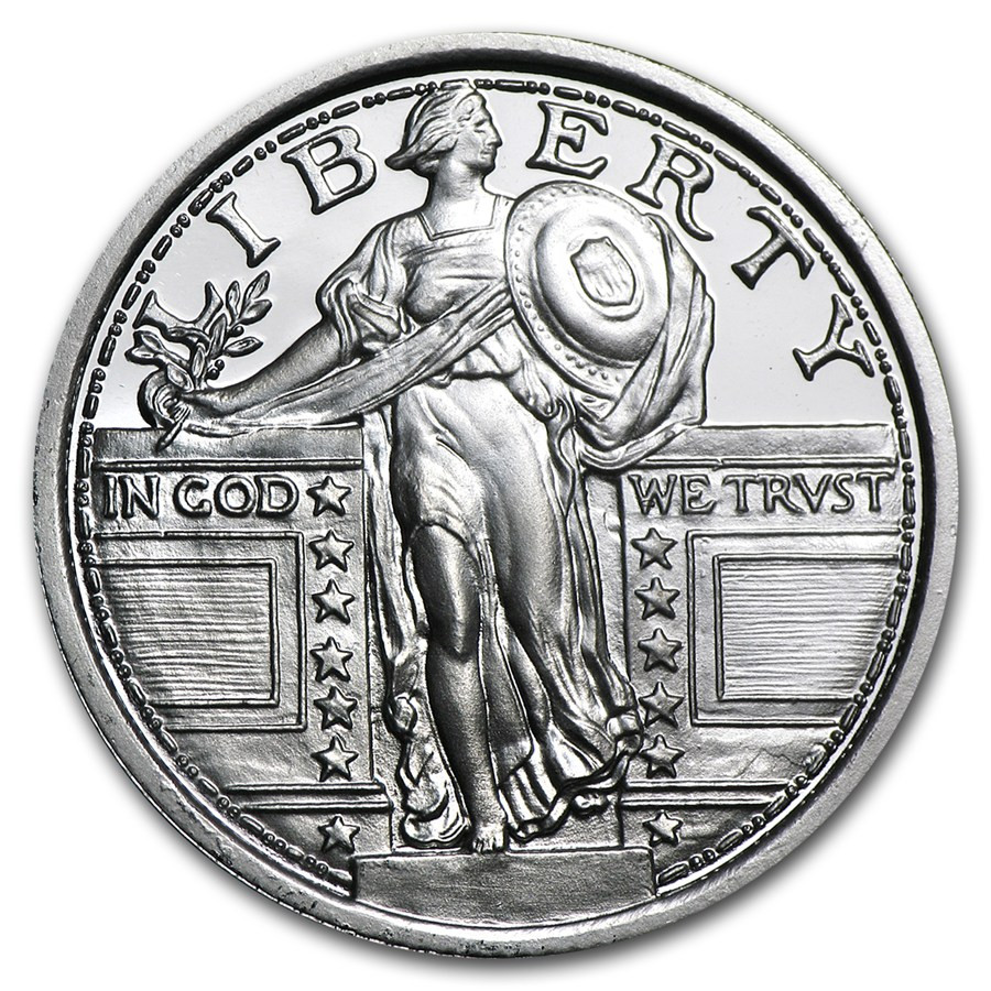1 4 oz Silver Round for Sale
