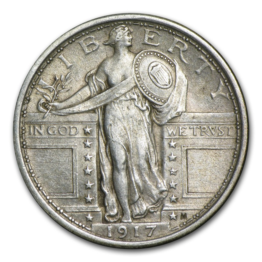 Standing Liberty Quarter Unique 1917 Standing Liberty Quarter Type I Au Of Incredible 50 Pictures Standing Liberty Quarter