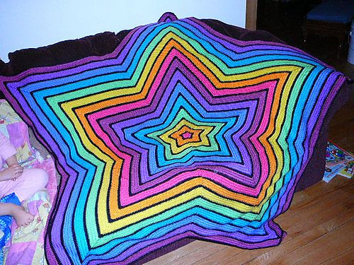 Star Blanket Crochet Pattern Fresh Bright Chromium Star Afghan On Ravelry Love Bright Colors Of Adorable 46 Pictures Star Blanket Crochet Pattern