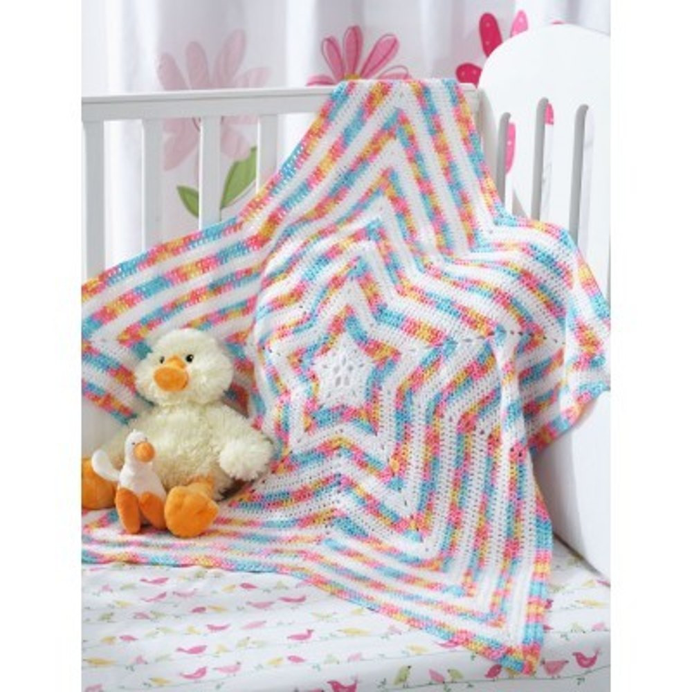 Star Blanket Crochet Pattern Fresh Star Blanket In Bernat Baby Coordinates solids Of Adorable 46 Pictures Star Blanket Crochet Pattern