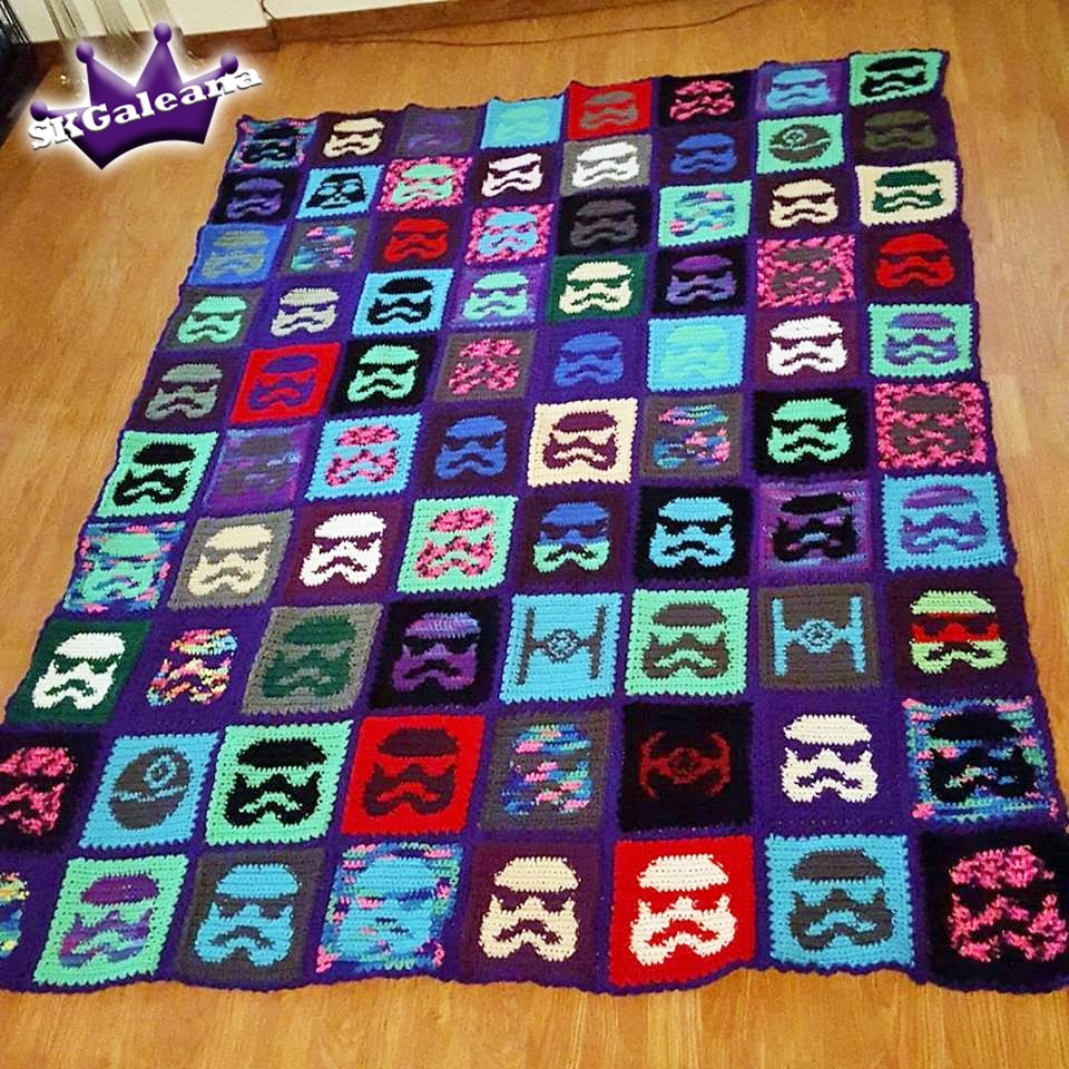 Star Blanket Crochet Pattern Fresh Star Wars Stormtrooper Crochet Blanket Pattern Of Adorable 46 Pictures Star Blanket Crochet Pattern