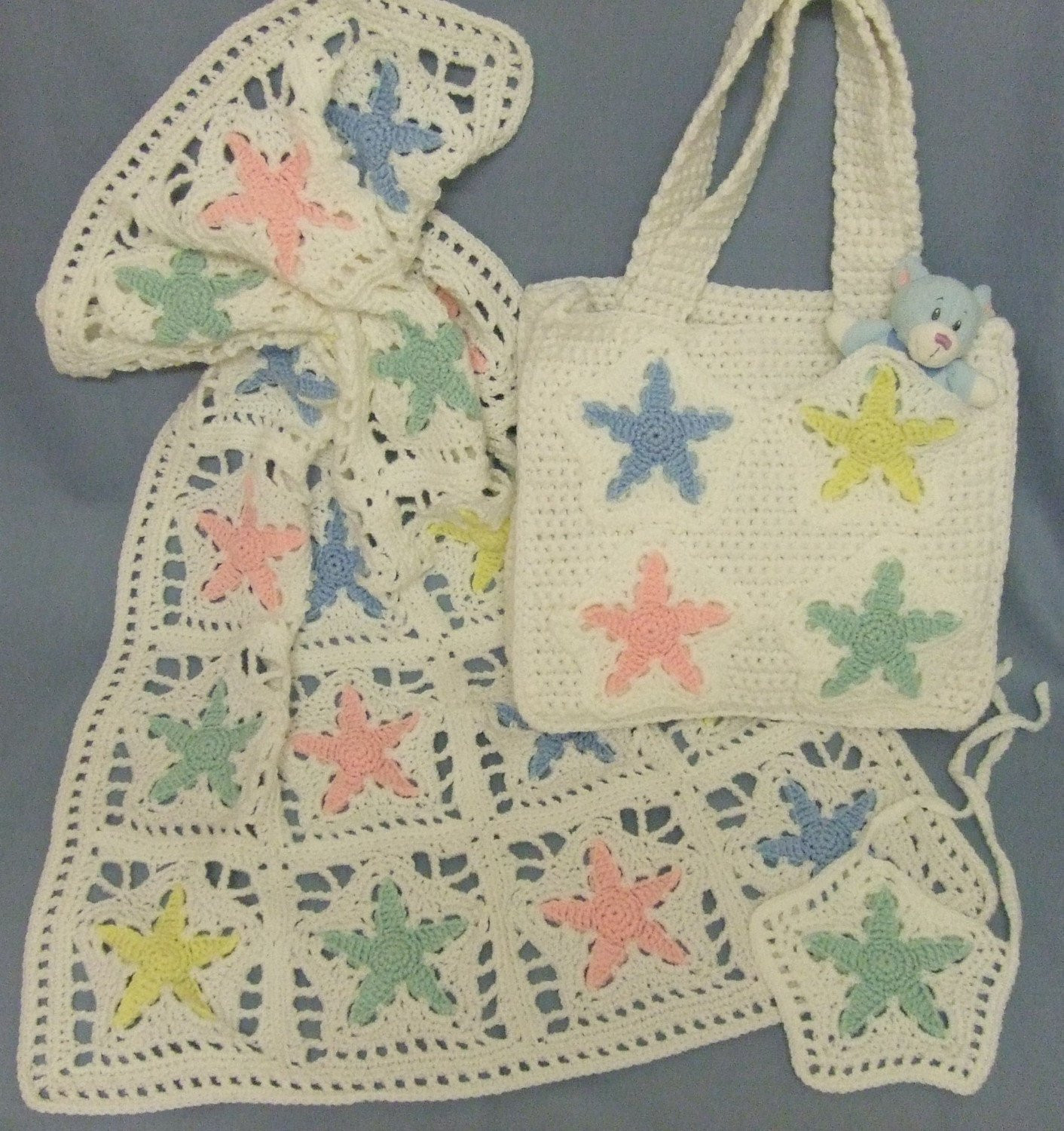 Star Blanket Crochet Pattern New Crochet Pattern Cv002 Star Baby Blanket and Diaper Bag Pdf Of Adorable 46 Pictures Star Blanket Crochet Pattern