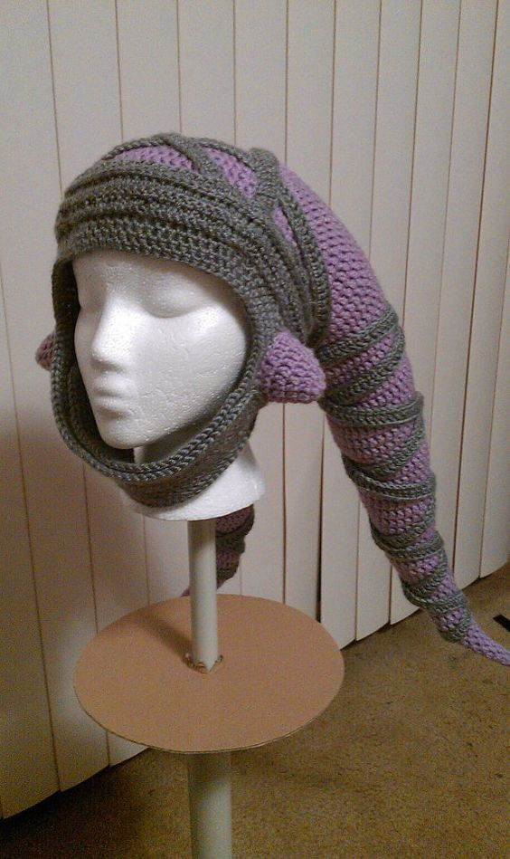 """Star Wars Crochet Hat Best Of now This This is A Twi Lek Hat 3 """"star Wars Twi Lek Of New 42 Images Star Wars Crochet Hat"""