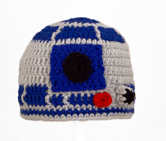 r2d2 hat from star wars in size large