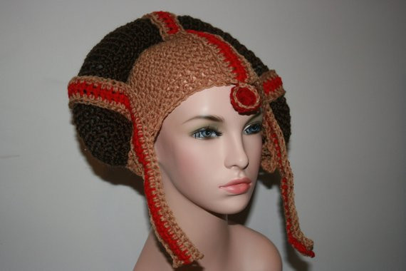 Star Wars Crochet Hat Unique Star Wars Princess Inspired Crochet Hat Padme All Of New 42 Images Star Wars Crochet Hat