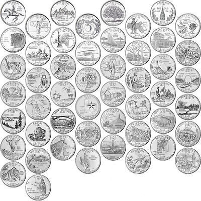 State Quarter Collection Awesome 1999 2008 Us State Quarters Plete Uncirculated Of Attractive 47 Photos State Quarter Collection