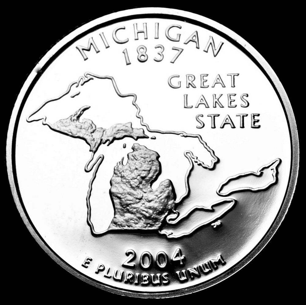 State Quarter Collection Best Of 2004 S Michigan Mint Clad Proof Statehood Washington Of Attractive 47 Photos State Quarter Collection