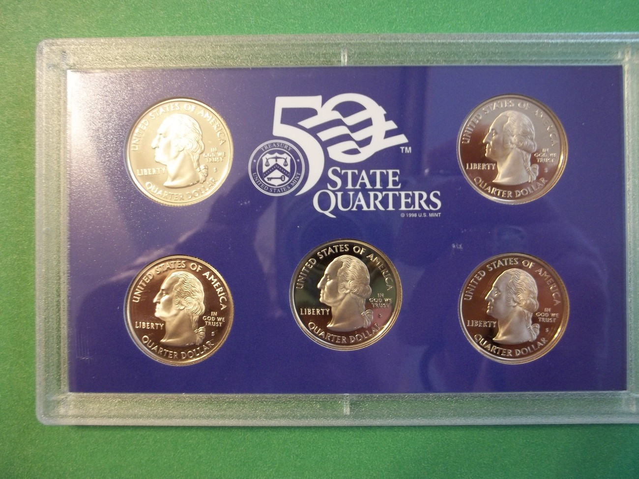 State Quarter Collection Fresh 2008 State Quarters Proof Set Coins & Paper Money Of Attractive 47 Photos State Quarter Collection