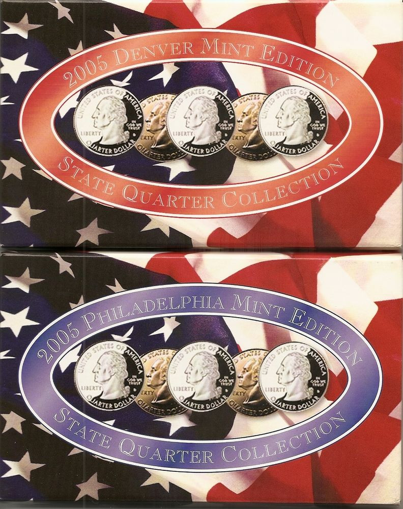 State Quarter Collection Lovely 2003 P & D State Quarter Collection Uncirculated 4 Set Lot Of Attractive 47 Photos State Quarter Collection