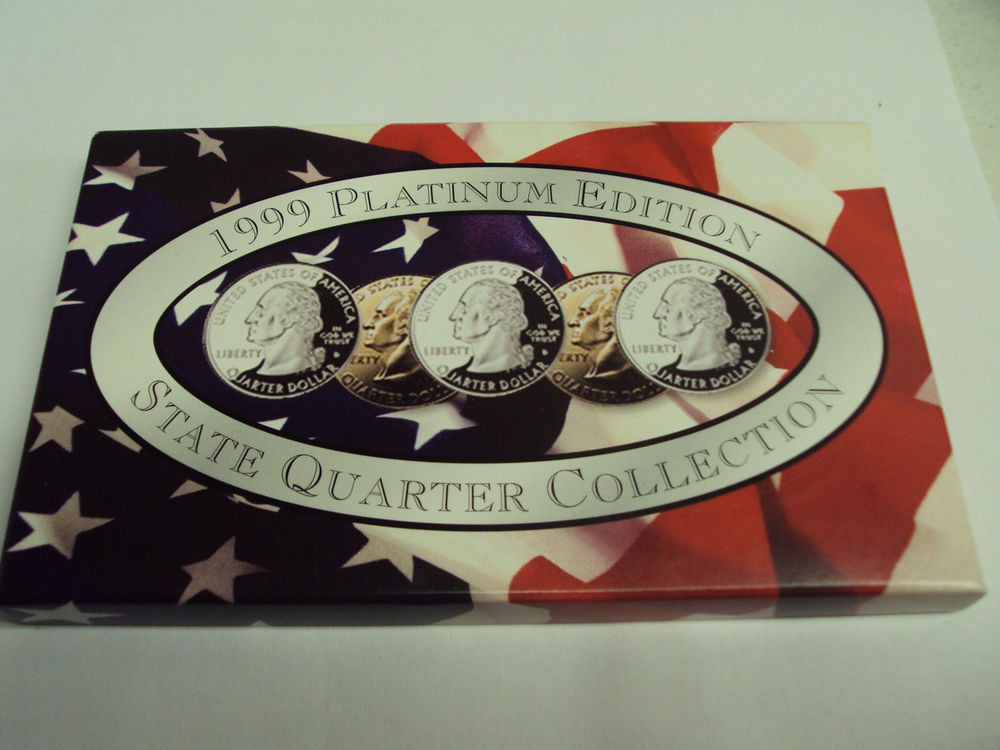 State Quarter Collection New 1999 Platinum Edition State Quarter Collection with Of Attractive 47 Photos State Quarter Collection
