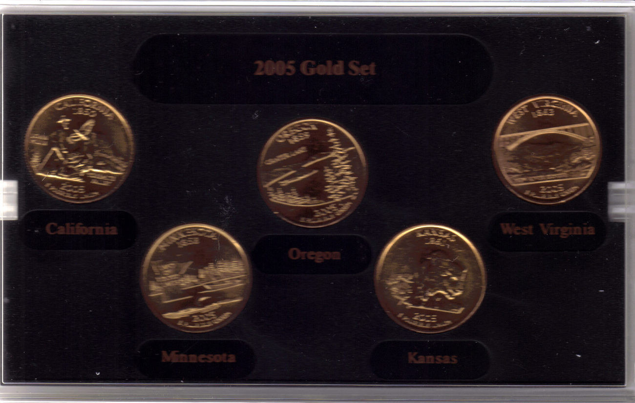 State Quarter Collection New 2005 Gold Edition State Quarter Collection and 50 Similar Of Attractive 47 Photos State Quarter Collection