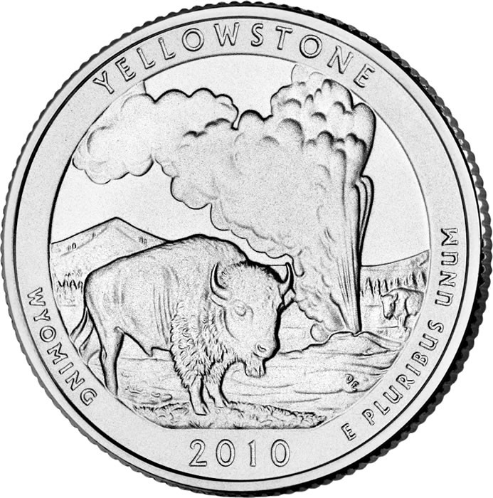 State Quarters Beautiful Yellowstone National Park Quarter Of Wonderful 47 Images State Quarters