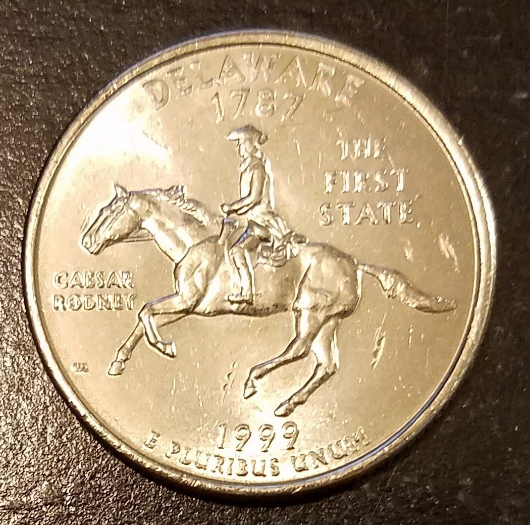 State Quarters Inspirational 1999 P Delaware State Quarter From Roll 7199 for Of Wonderful 47 Images State Quarters