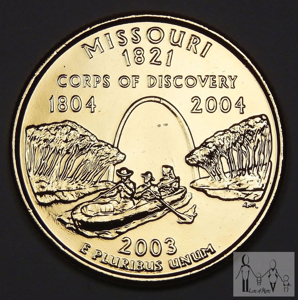 State Quarters Inspirational 2003 Missouri Gold Plated State Quarter 25c Us Coin Of Wonderful 47 Images State Quarters