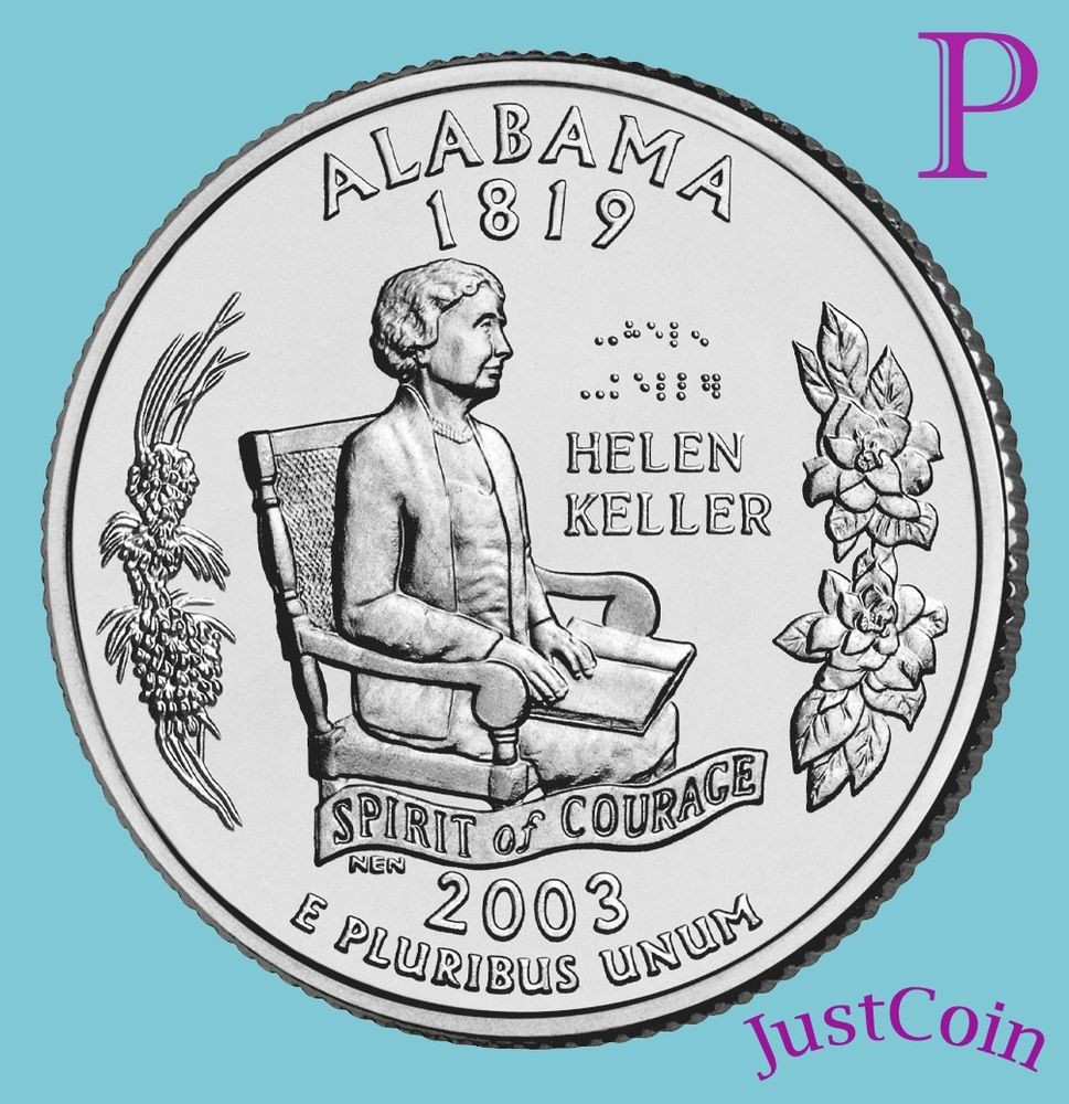 State Quarters Luxury 2003 P Alabama State Al Quarter Uncirculated From U S Of Wonderful 47 Images State Quarters