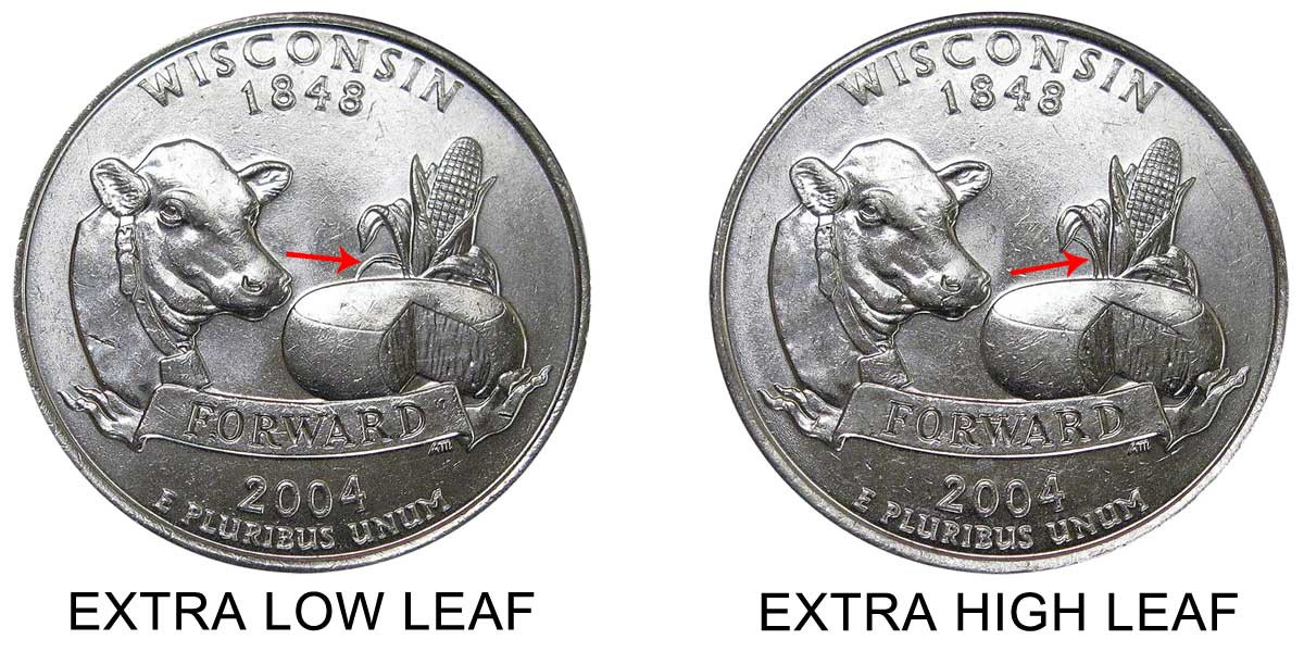 State Quarters Worth Money Beautiful 2004 D Wisconsin State Quarters Extra Leaf High Value and Of Brilliant 50 Ideas State Quarters Worth Money