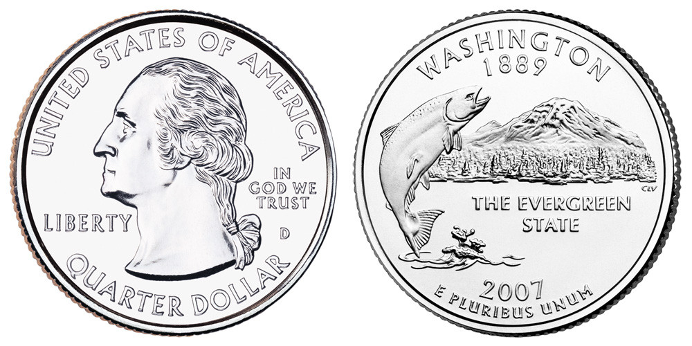 State Quarters Worth Money Beautiful 2007 D Washington State Quarters Value and Prices Of Brilliant 50 Ideas State Quarters Worth Money