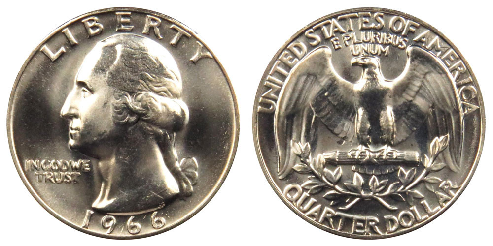 State Quarters Worth Money Inspirational 1966 Washington Quarters Clad Position Value and Prices Of Brilliant 50 Ideas State Quarters Worth Money