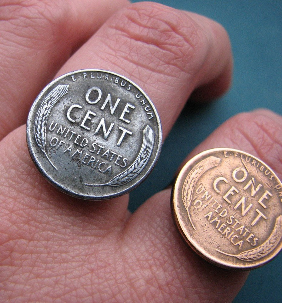 Steel Penny Value Elegant 1943 Steel Penny Ring Uni Vintage Coin Jewelry Of Charming 47 Models Steel Penny Value