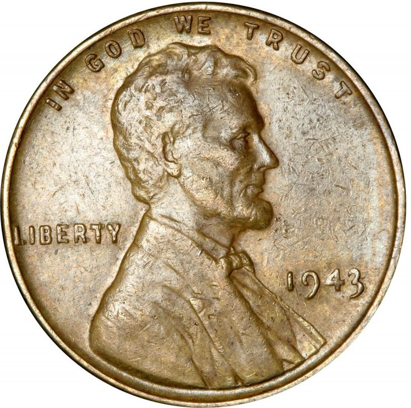 Steel Penny Value Inspirational 1943 Lincoln Wheat Pennies Values and Prices Past Sales Of Charming 47 Models Steel Penny Value