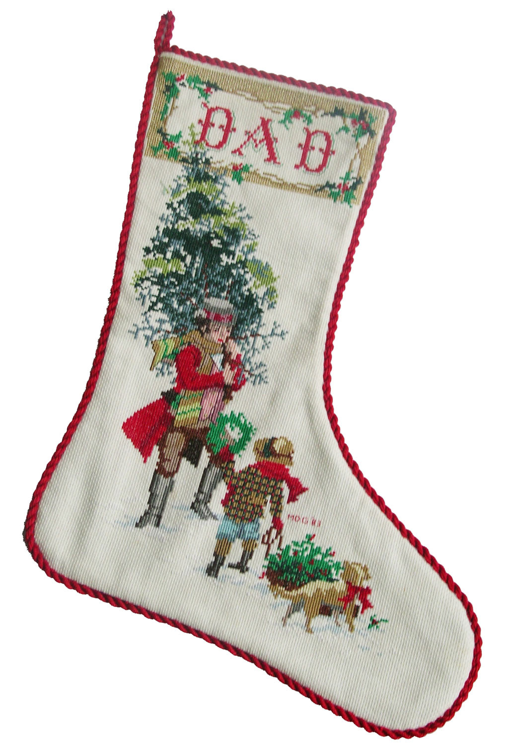 Stocking Pattern Elegant Cross Stitched Christmas Stockings – Q is for Quilter Of New 44 Models Stocking Pattern