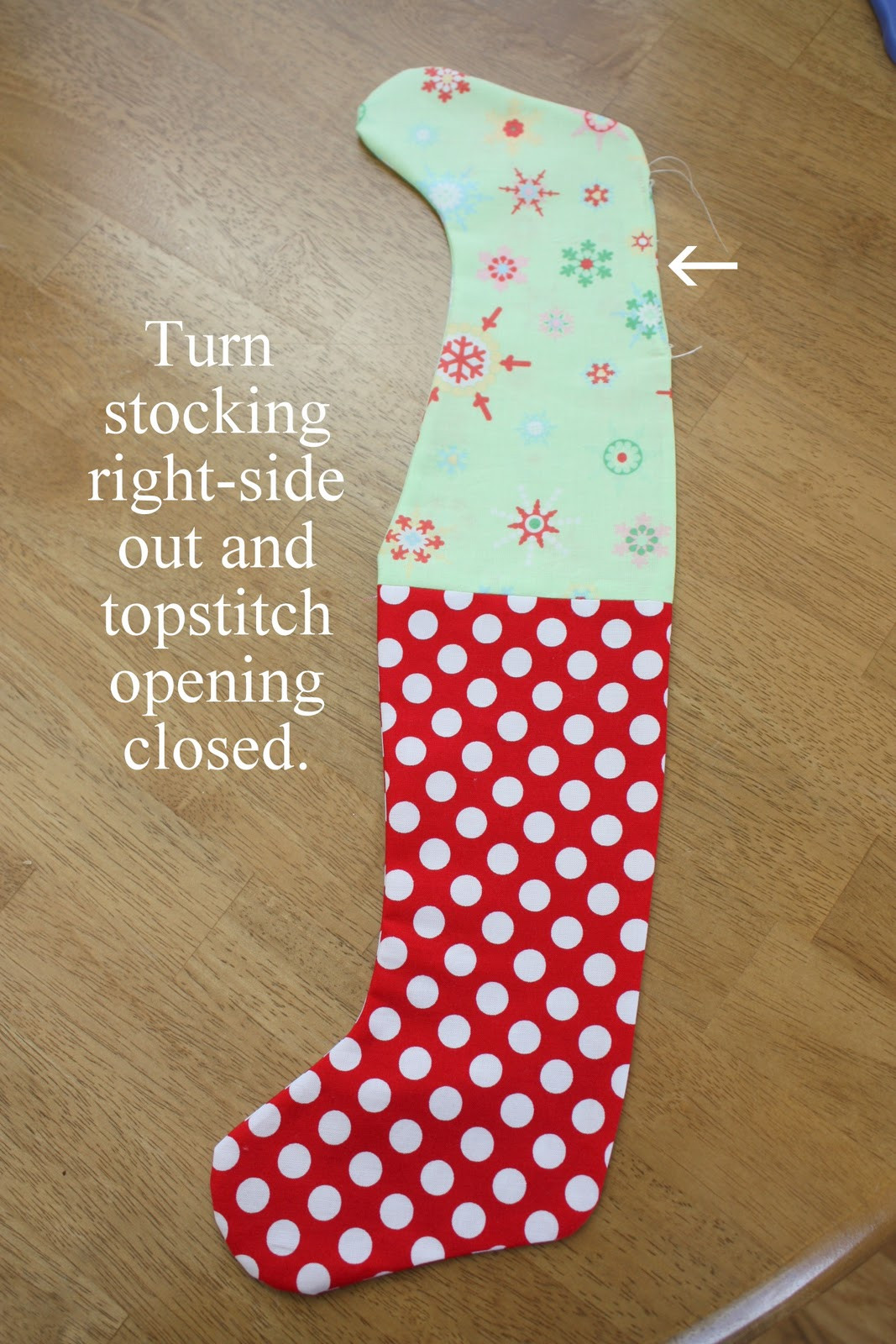 Stocking Pattern Lovely Easy Stocking Tutorial Diary Of A Quilter A Quilt Blog Of New 44 Models Stocking Pattern