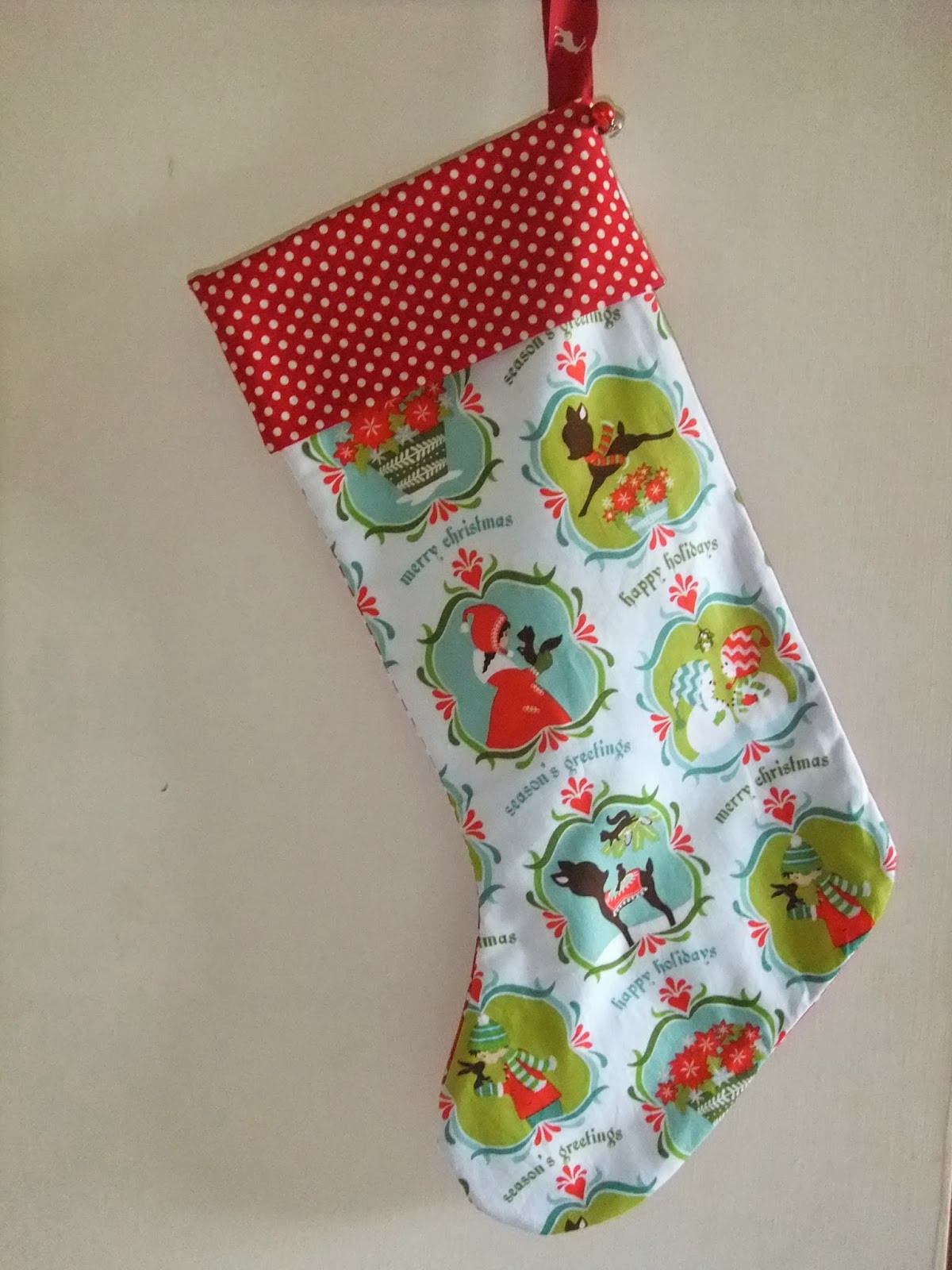 Stocking Pattern New Sew Scrumptious Christmas Stocking Tutorial and Pattern Of New 44 Models Stocking Pattern