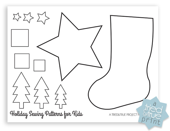 Stocking Pattern Unique Christmas Stocking Beginner Sewing Pattern Fairfield Of New 44 Models Stocking Pattern