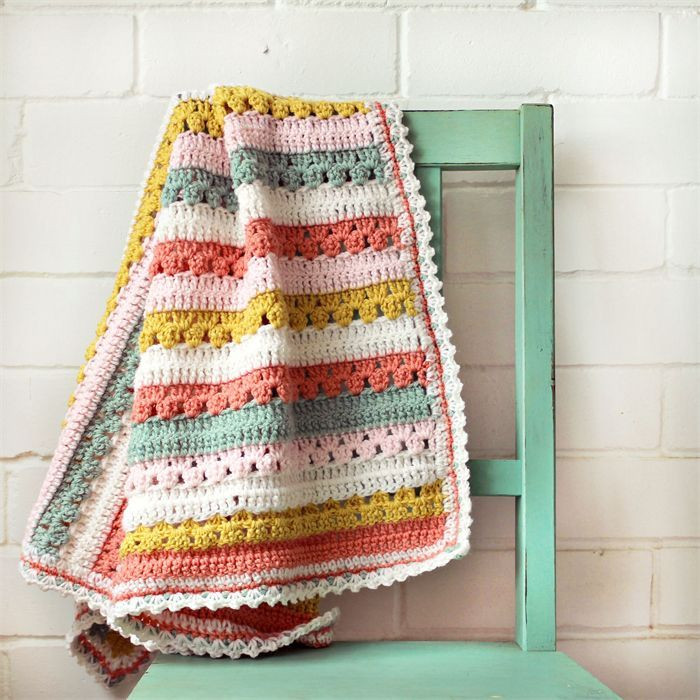 Striped Baby Blanket Awesome 25 Best Ideas About Striped Crochet Blanket On Pinterest Of Lovely 48 Pics Striped Baby Blanket