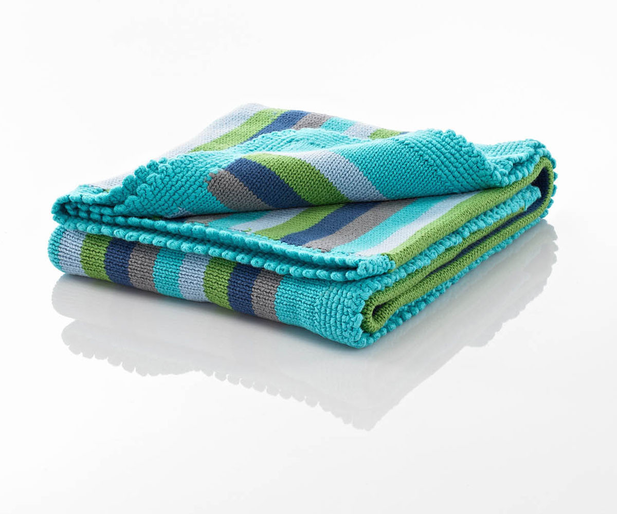 Striped Baby Blanket Beautiful Blankets Fairtrade Pebble Knitted Baby Blanket Blue Stripes Of Lovely 48 Pics Striped Baby Blanket