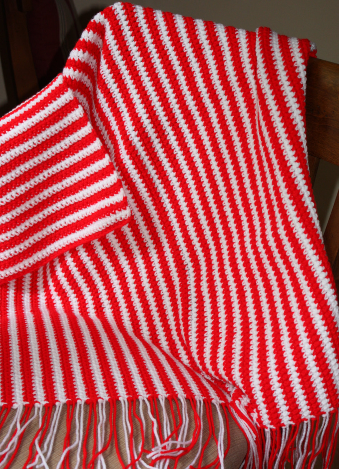Striped Baby Blanket Elegant Red and White Striped Baby Afghan Peppermint Striped Afghan Of Lovely 48 Pics Striped Baby Blanket