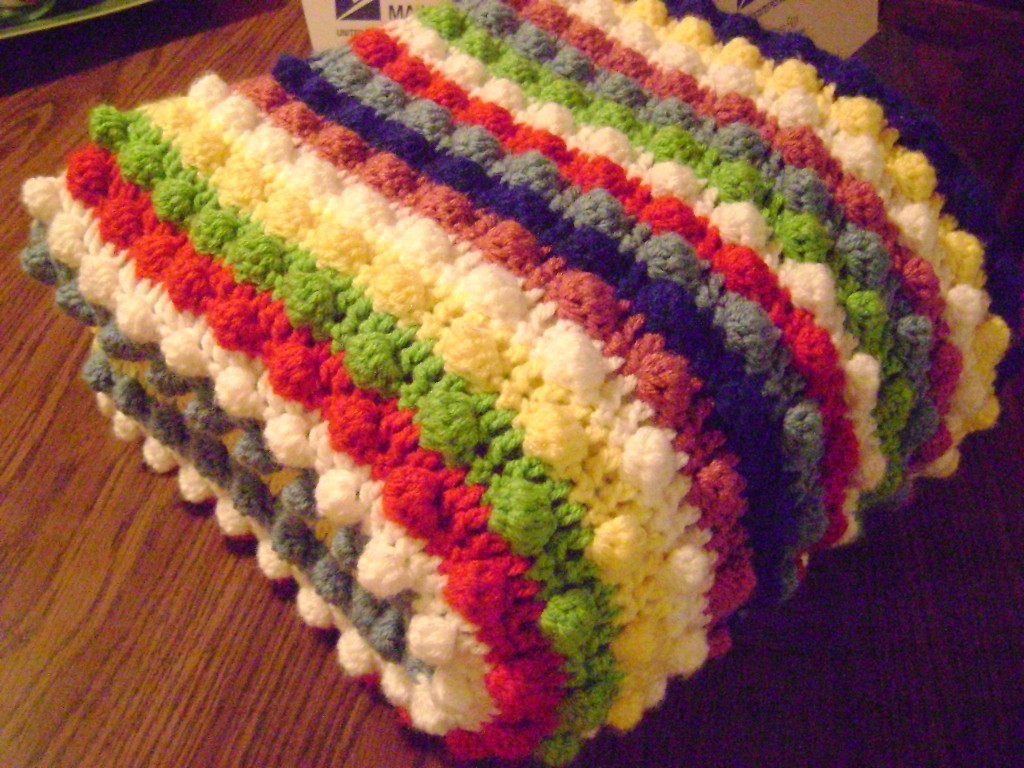 Striped Baby Blanket Luxury Free Crochet Pattern the Blackberry Salad Striped Afghan Of Lovely 48 Pics Striped Baby Blanket
