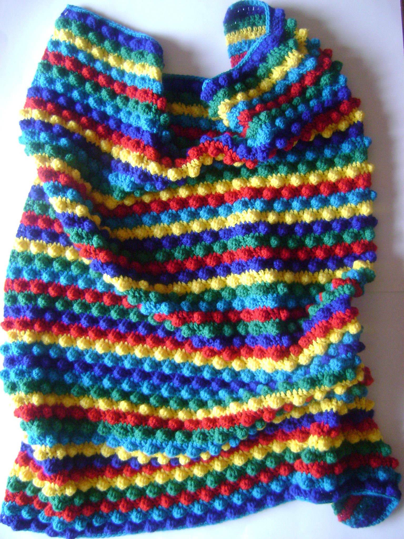 Order your own Blackberry Striped Baby Blanket