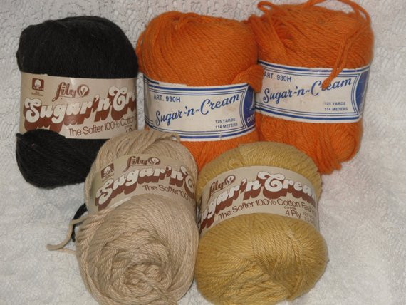 Sugar and Cream Cotton Yarn Awesome Lily Sugar N Cream Cotton Yarn Lot Of 5 assorted Colors Of Brilliant 41 Ideas Sugar and Cream Cotton Yarn