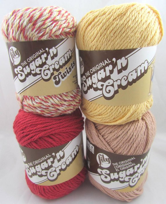 Sugar N Cream Luxury Country Color Set Lily Sugar N Cream Yarn Of Top 42 Models Sugar N Cream