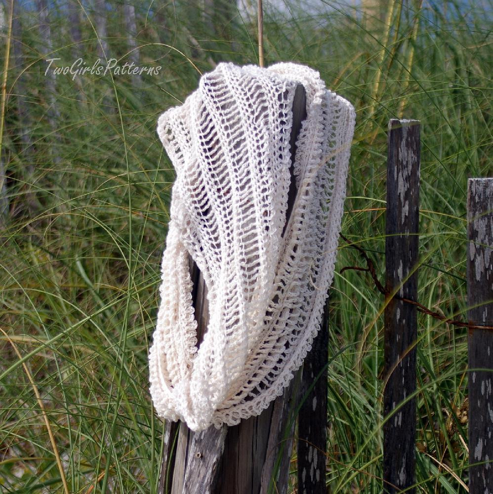 Summer Crochet Patterns Awesome Summer Infinity Scarf Crochet Pattern by Two Girls Of Wonderful 49 Pics Summer Crochet Patterns