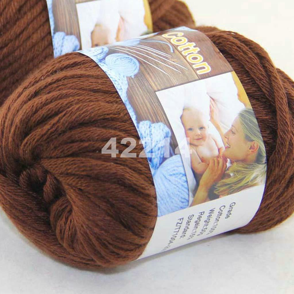 Super Bulky Cotton Yarn Luxury Sale New 1 Skeinx50g soft Worsted Cotton Chunky Super Of Amazing 38 Pics Super Bulky Cotton Yarn