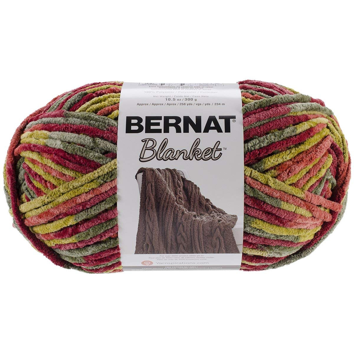 Super Bulky Yarn Blanket Beautiful Spinrite Bernat Blanket Big Ball Yarn Harvest Of Brilliant 42 Models Super Bulky Yarn Blanket