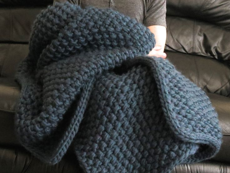 Super Bulky Yarn Blanket Beautiful This is the Eleventh Hour Blanket by the Purl Bee It's Of Brilliant 42 Models Super Bulky Yarn Blanket
