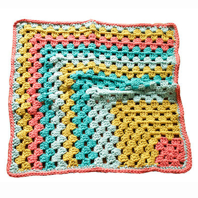 Vickie Howell Super Bulky Baby Blanket PDF at WEBS