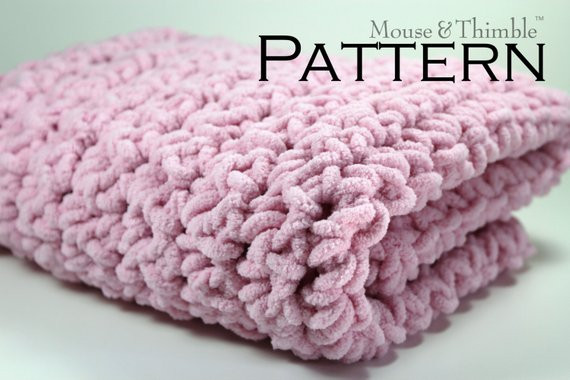 Super Bulky Yarn Blanket Inspirational Chunky Fleece Baby Blanket Super Bulky Crochet Pattern 26 Of Brilliant 42 Models Super Bulky Yarn Blanket