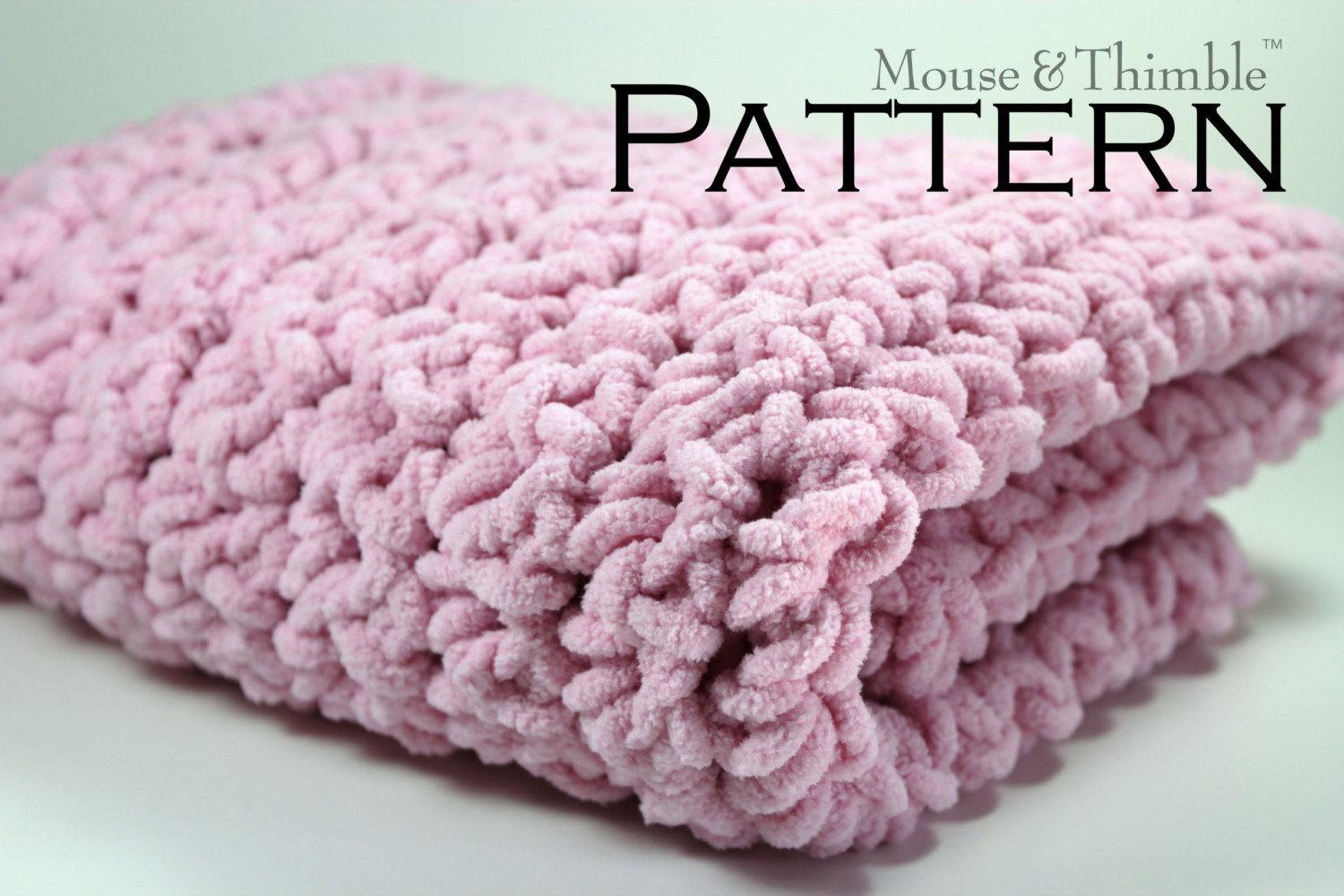 Baby Blanket Crochet Patterns With Bulky Yarn