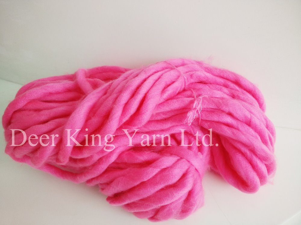 Super Chunky Acrylic Wool Yarn Dyed Thick Yarn Buy Super
