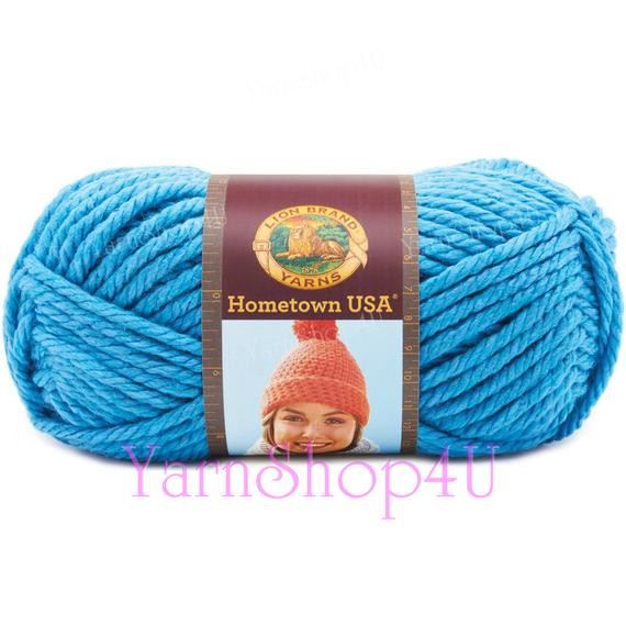Super Chunky Acrylic Yarn New Detroit Blue Lion Brand Hometown Usa Detroit Lions Blue Of Luxury 50 Ideas Super Chunky Acrylic Yarn