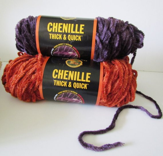 Super Chunky Chenille Yarn Awesome Chenille Yarn 3 Big Skeins Thick and Quick Terracotta Purple Of Brilliant 49 Photos Super Chunky Chenille Yarn