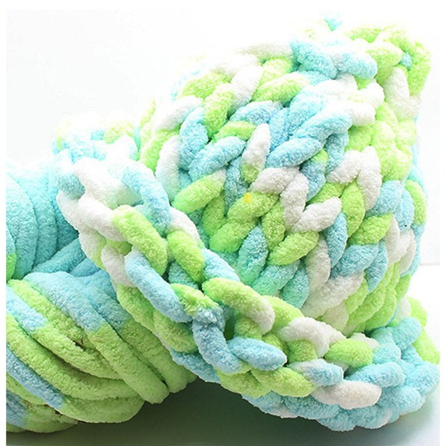 250g Soft Super Thick Chenille Yarn For Hand Knitting