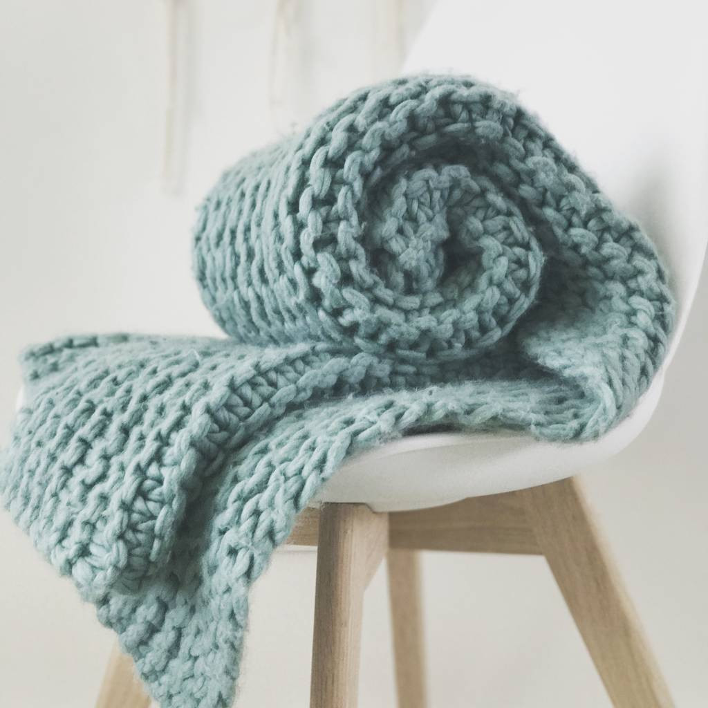 Super Chunky Knit Blanket Awesome Blanket Knit Kit Super Chunky Diy Giant Throw by Wool Of Wonderful 40 Photos Super Chunky Knit Blanket