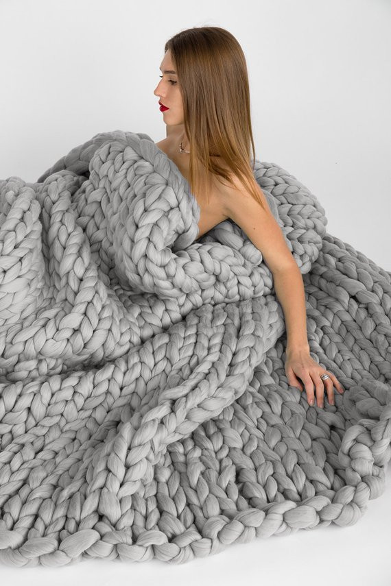 Super Chunky Knit Blanket Best Of Super Chunky Knit Blanket Wool Blanket Knitted Blanket Of Wonderful 40 Photos Super Chunky Knit Blanket