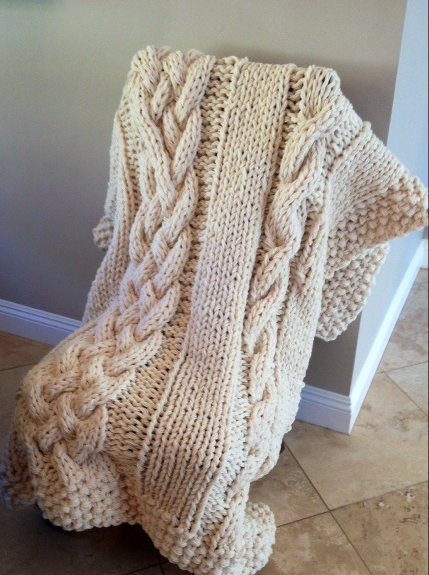 Super Chunky Knit Blanket Inspirational Super Chunky Cable Knit Blanket Lots Of Color Choices Of Wonderful 40 Photos Super Chunky Knit Blanket
